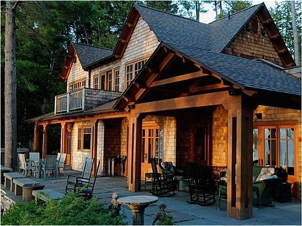 adirondack style homes plans
