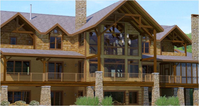 adirondack style house plans ideas