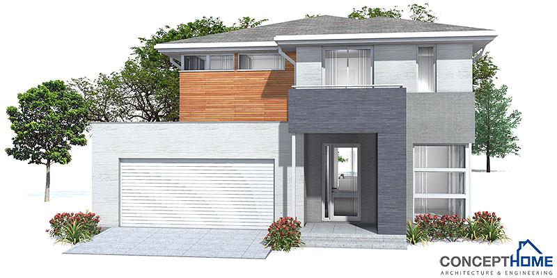 affordable modern house plan ch111