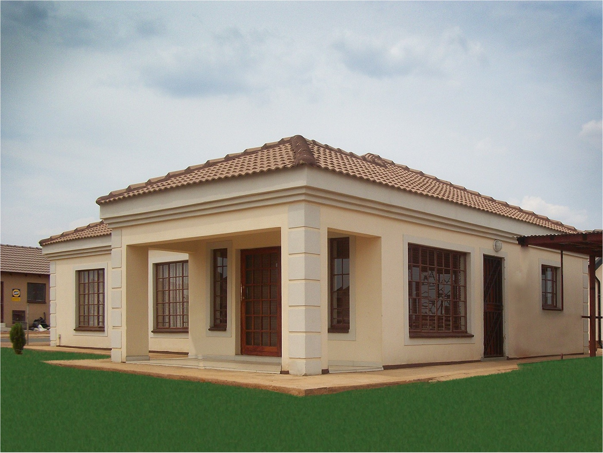 African Home Plans Designs Ethnic Decoration Africa House Plans House Style and Plans