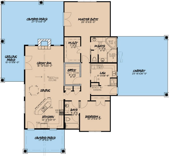 aging place house plans