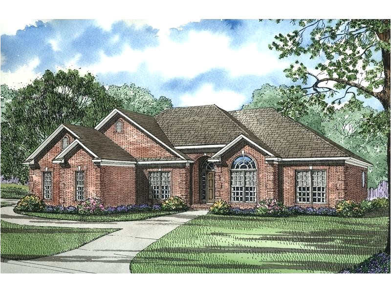 brick ranch house plans stone and brick are a great exterior combination for this ranch house traditional brick ranch house plans
