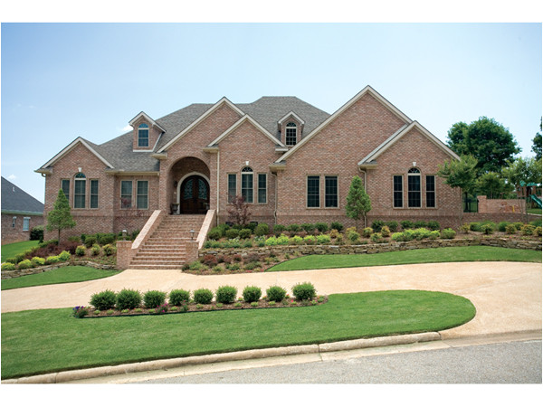 All Brick Home Plans Deerwood Park Luxury Home Plan 055s 0075 House Plans and