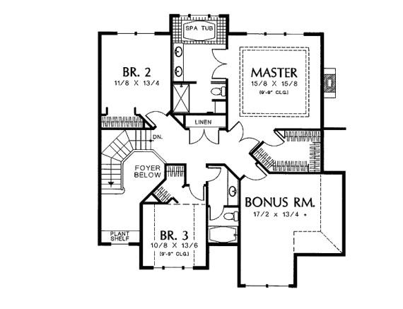 2 floors house design
