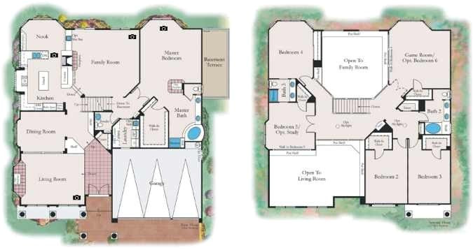 american west homes floor plans fresh royal highlands by american west homes glen eagles and inverness