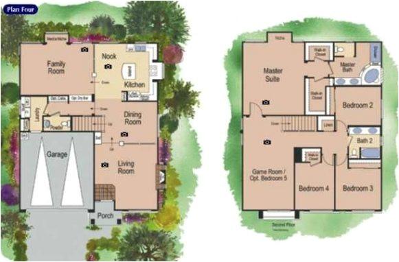 new american west homes floor plans