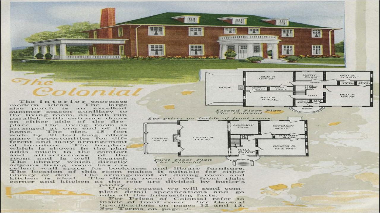 c07486e7581a0676 2 story house floor plans antique colonial house plans