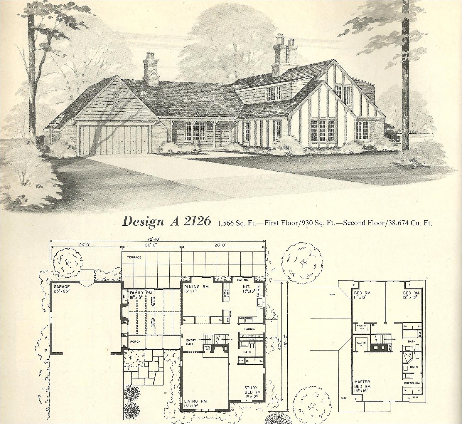 vintage ranch style house plans antique colonial revival prairie