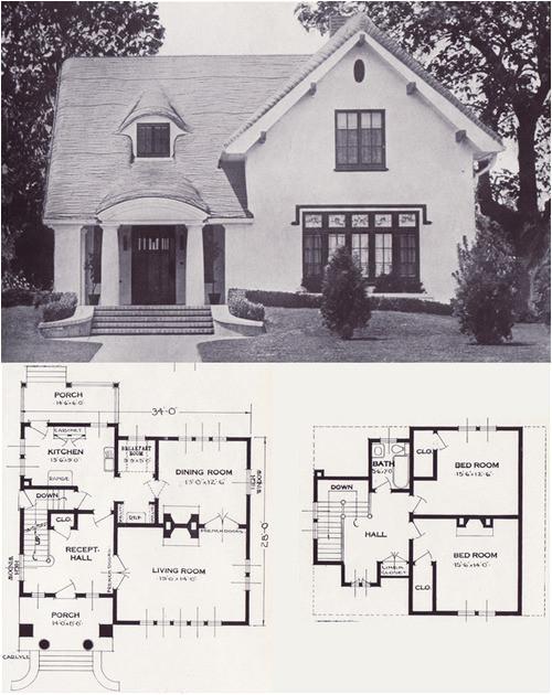 1920s1930s house plans