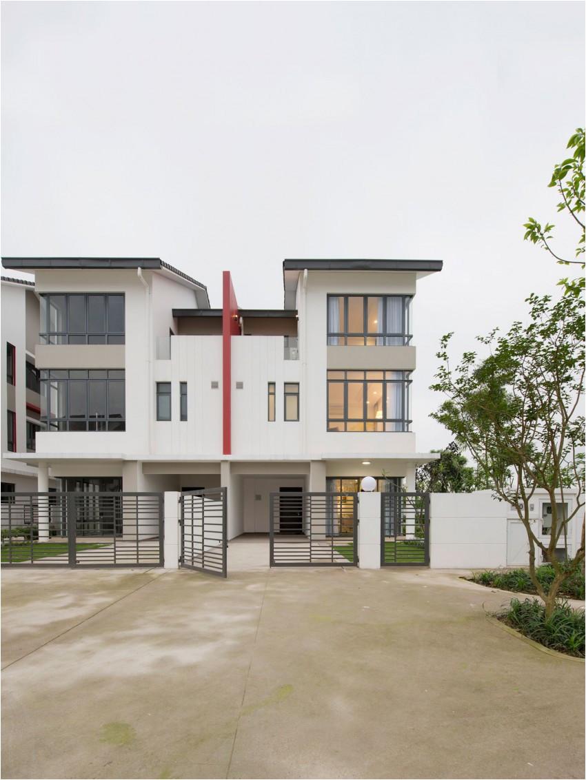 semi detached house by landmak architecture