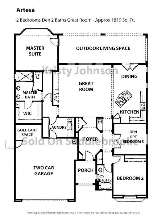continental homes floor plans arizona