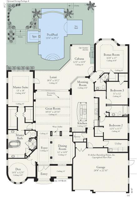 coquina 1177 floor plan tampa