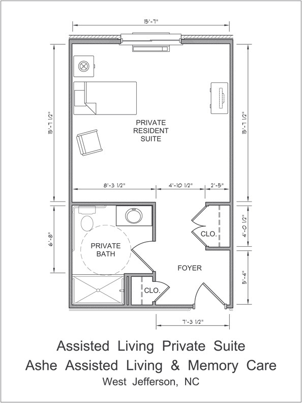 Assisted Living Home Floor Plan ashe assisted Living
