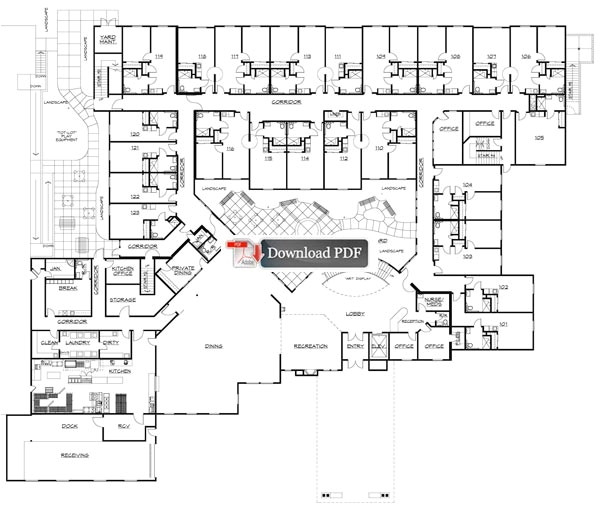 house plans for senior living intended for house