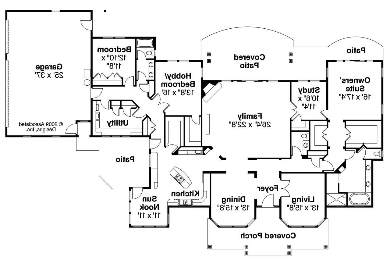 Associated Designs Home Plans Florida House Plans Cloverdale 30 682 associated Designs