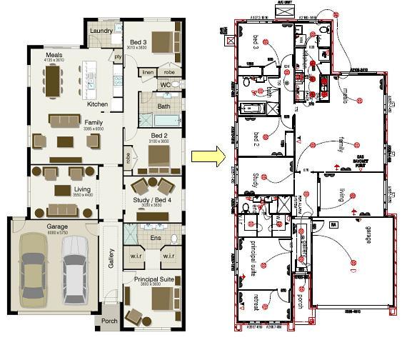 av jennings house floor plans