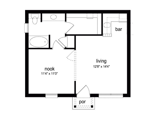 7 tiny studio floor plans that would make perfect bachelor pads