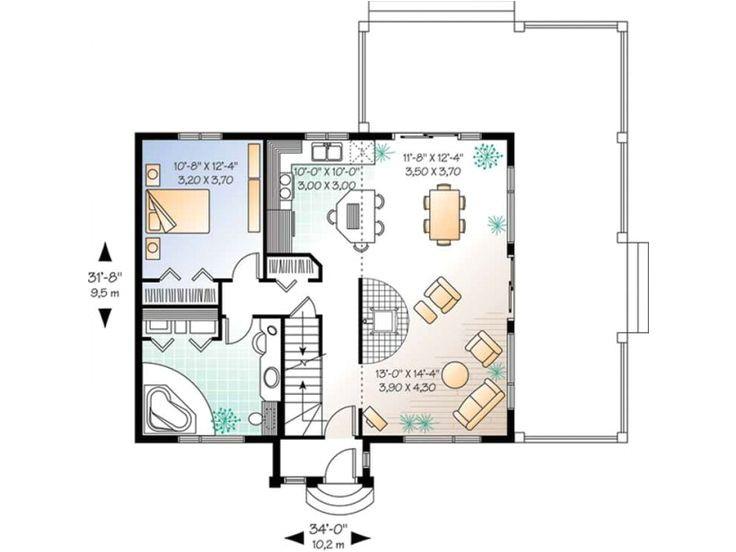 bachelor pad house floor plans