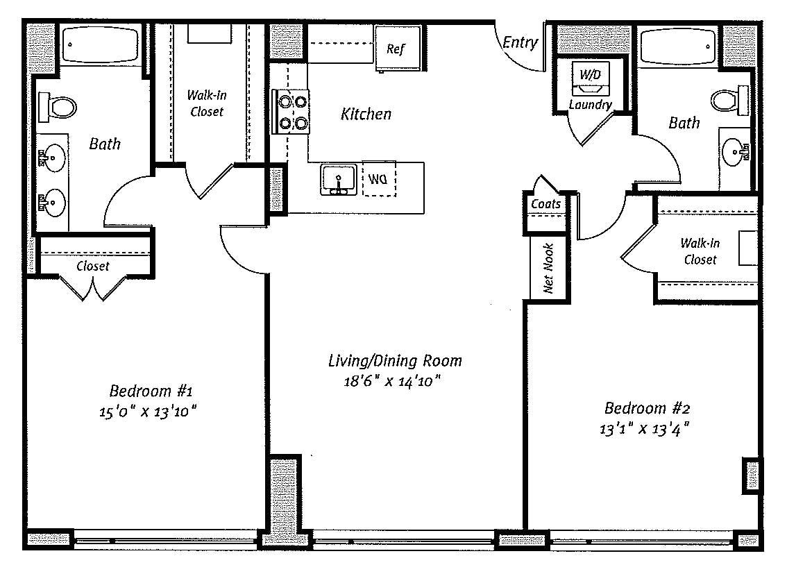 floorplan case study creating contemporary bachelor pad