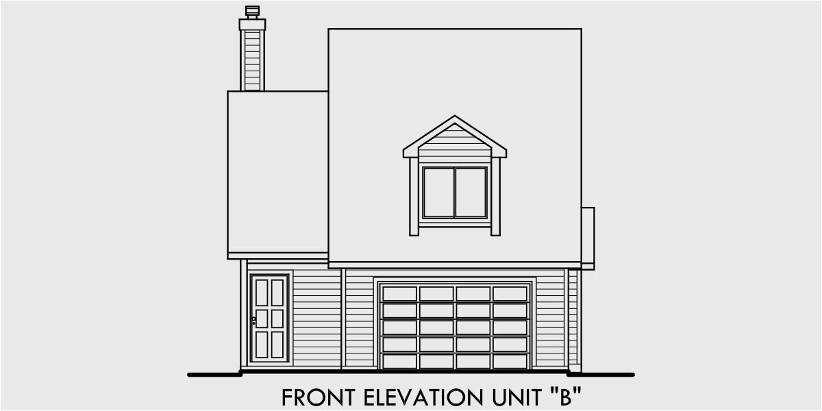 Back to Back Duplex House Plans Duplex House Plans Back to Back Duplex House Plans D 402