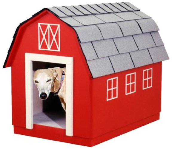 Barn Dog House Plans Barn Style Dog House Vintage Woodworking Plan