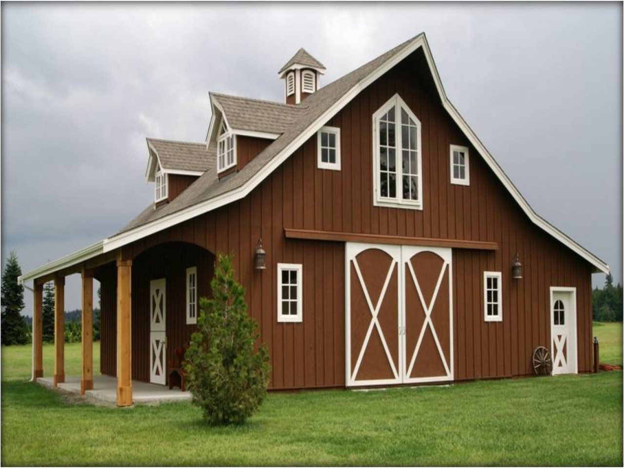 barn style house plans with charm