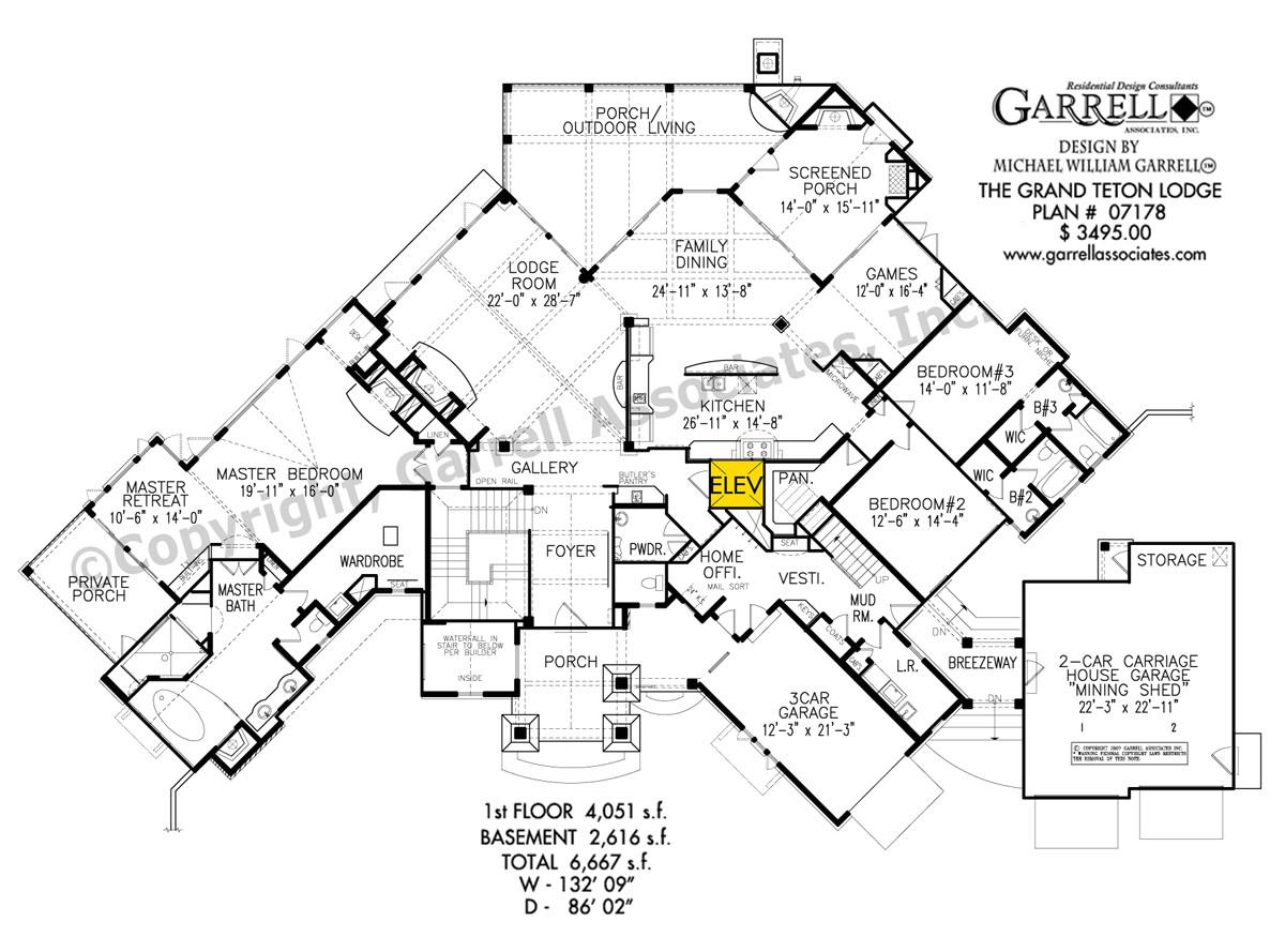 grand teton lodge house plan
