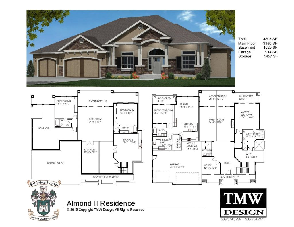 house plans with daylight basements elegant rambler daylight basement floor plans