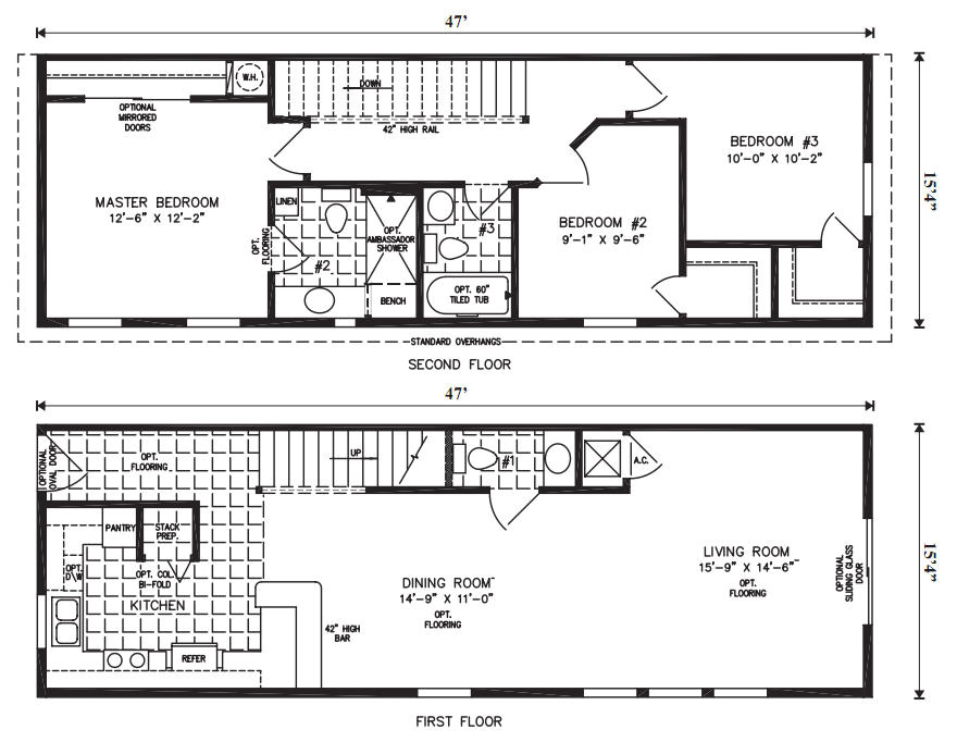 modular home basement floor plans