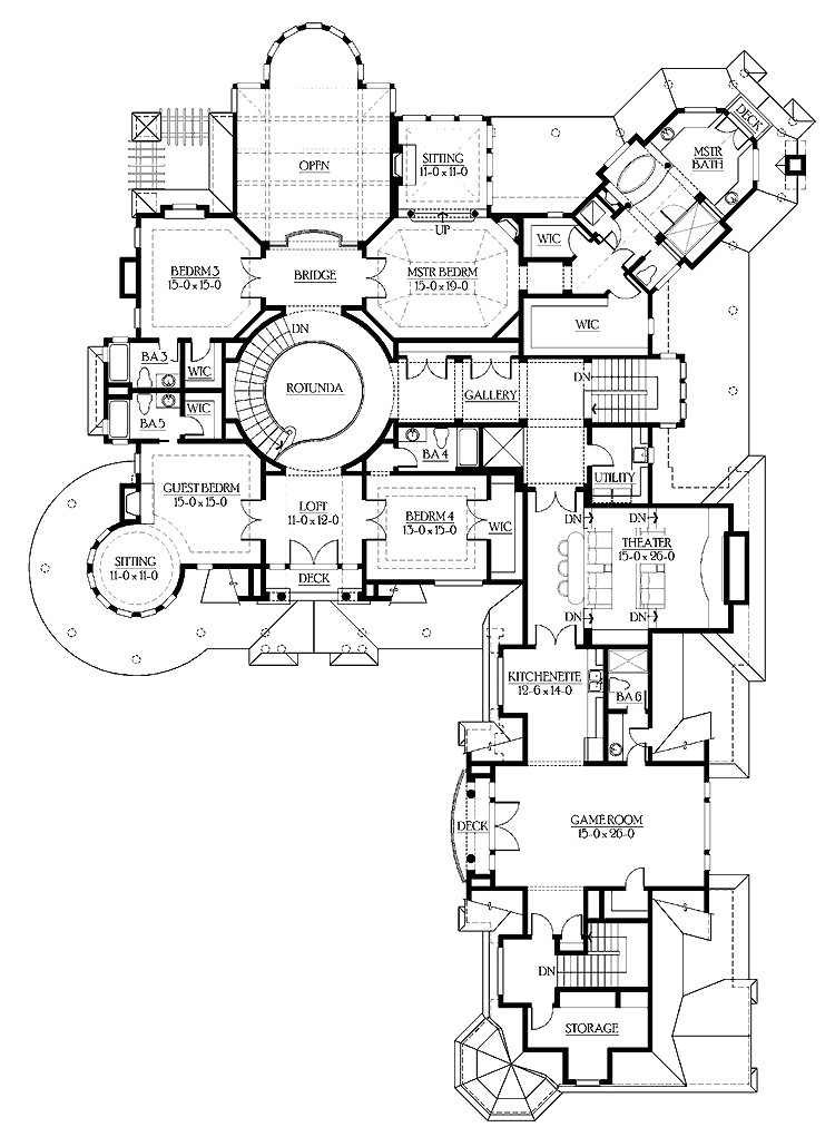 beautiful mansion home plans 4 luxury mansion home floor plans