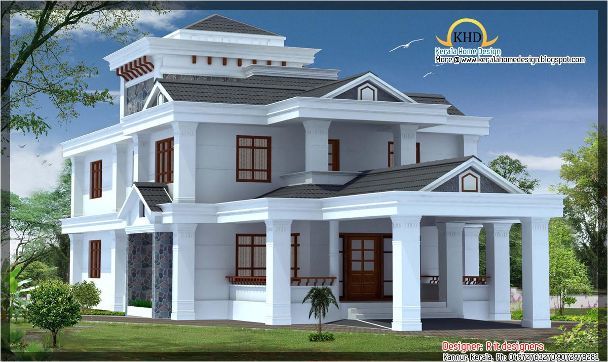 4 beautiful house elevations