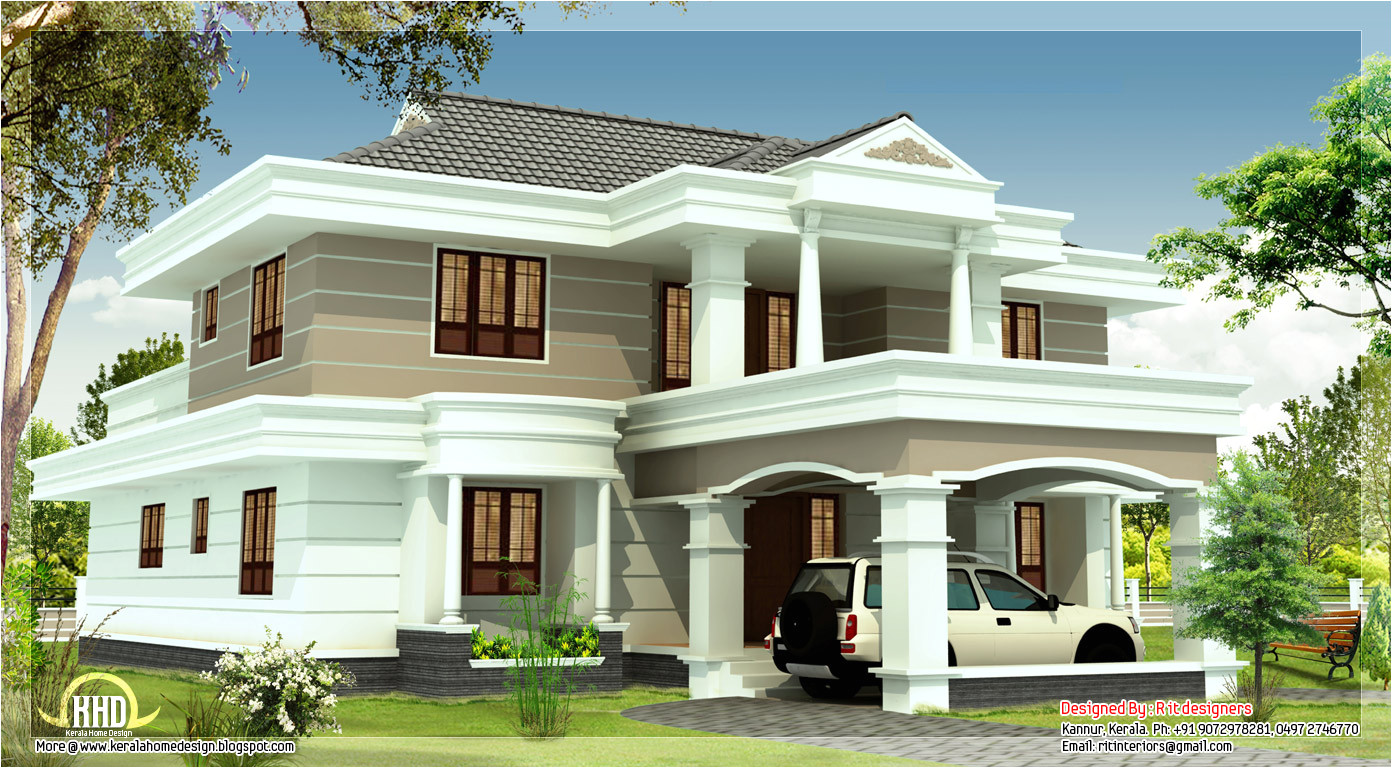 beautiful 2540sqft house design