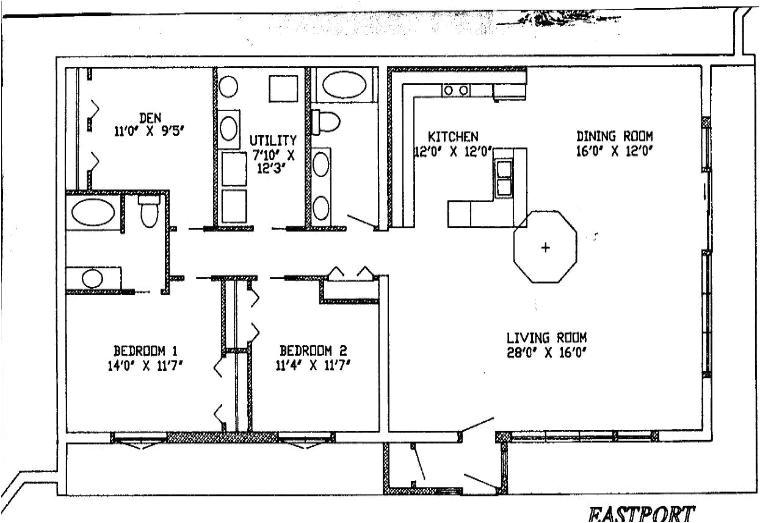 bermed earth sheltered home plans