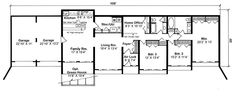 Bermed Home Plans Earth Sheltered Home Plans Earth Berm House Plans and In