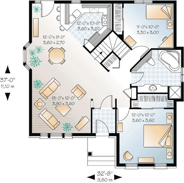 best open floor house plans cottage house plans c612b0c80b3578ca