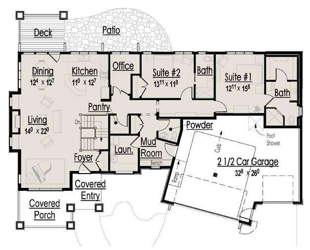 retirement home floor plans