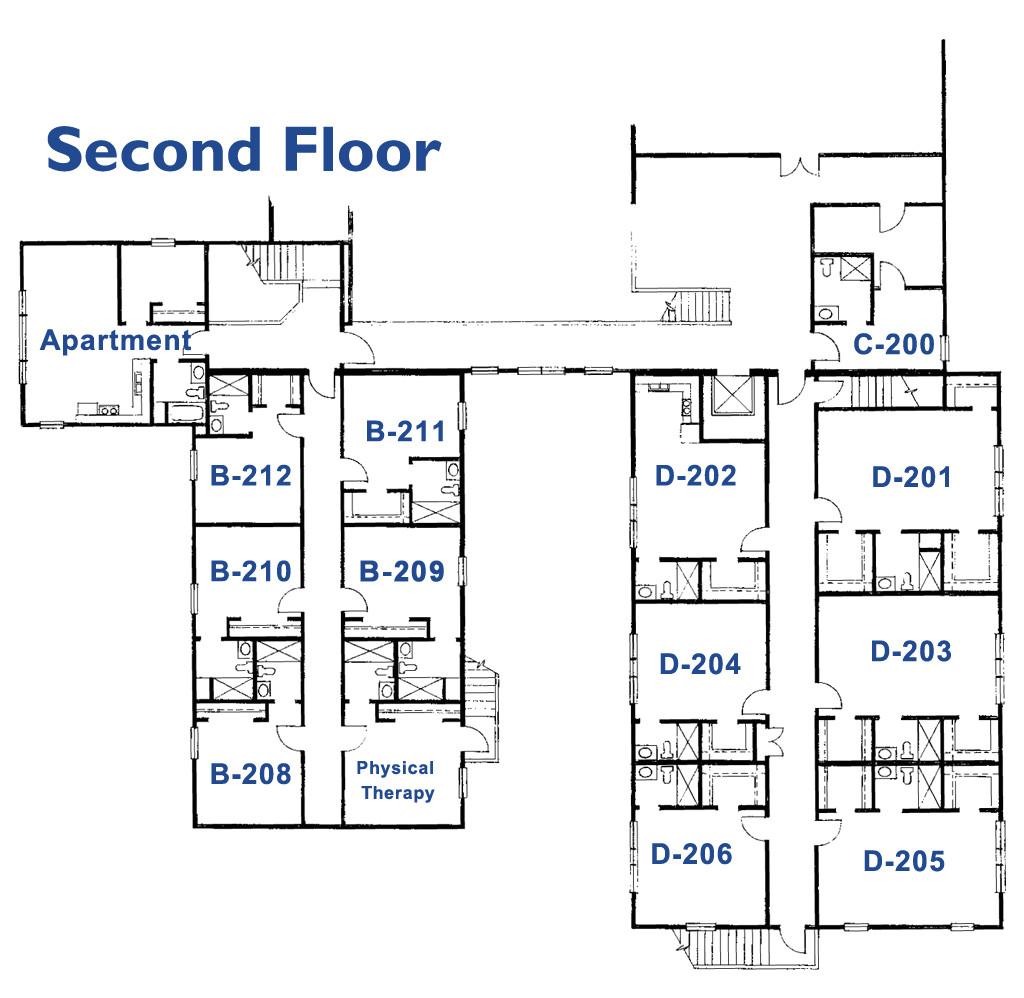 retirement homes floor plans