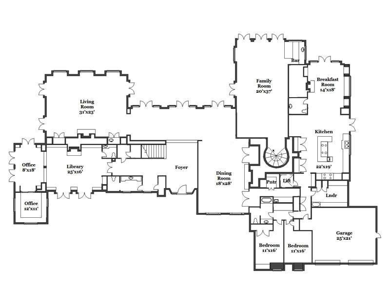 beverly hills house plans
