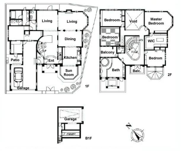 beverly hills mansion floor plans