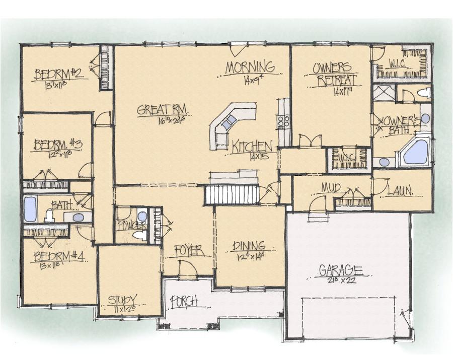 nice schumacher home plans 14 schumacher homes beverly floor plan