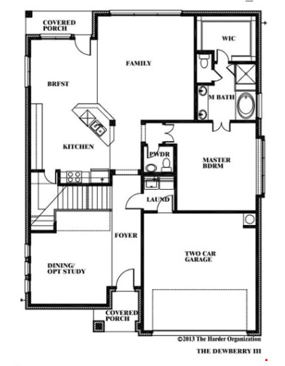 dewberry by bloomfield homes floor plan friday