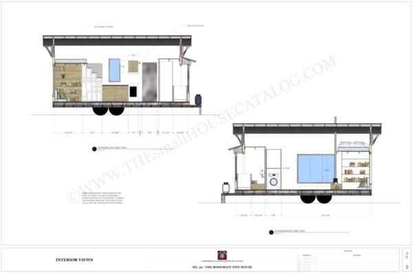 free tiny house plans bohemian