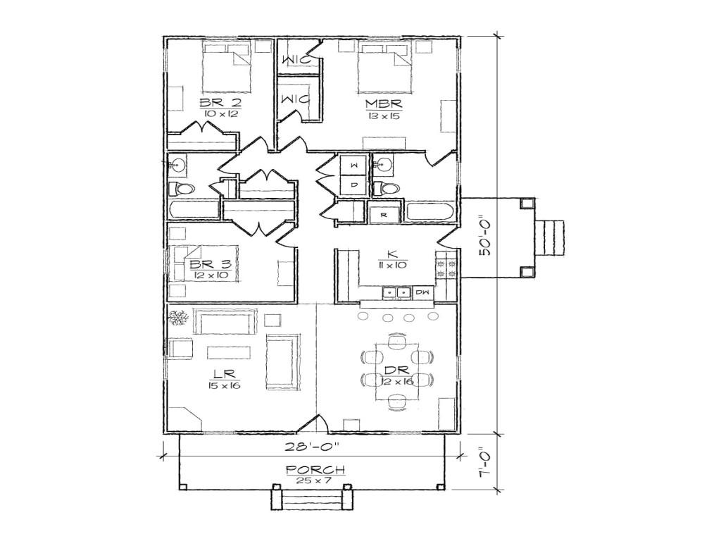 5dfd084bee5442af narrow lot bungalow house floor plans craftsman narrow lot
