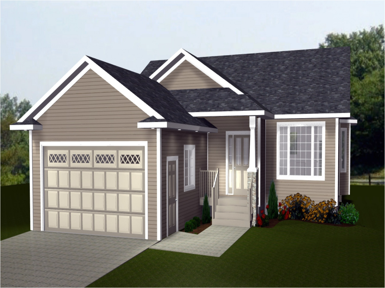 bdb4bb2fdc143f55 bungalow house plans with garage bungalow house plans with basement