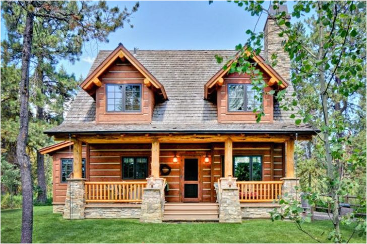 small rustic log cabin plans