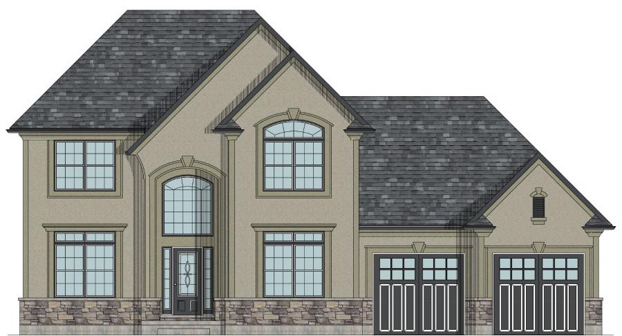 the richmond hill two storey house plan