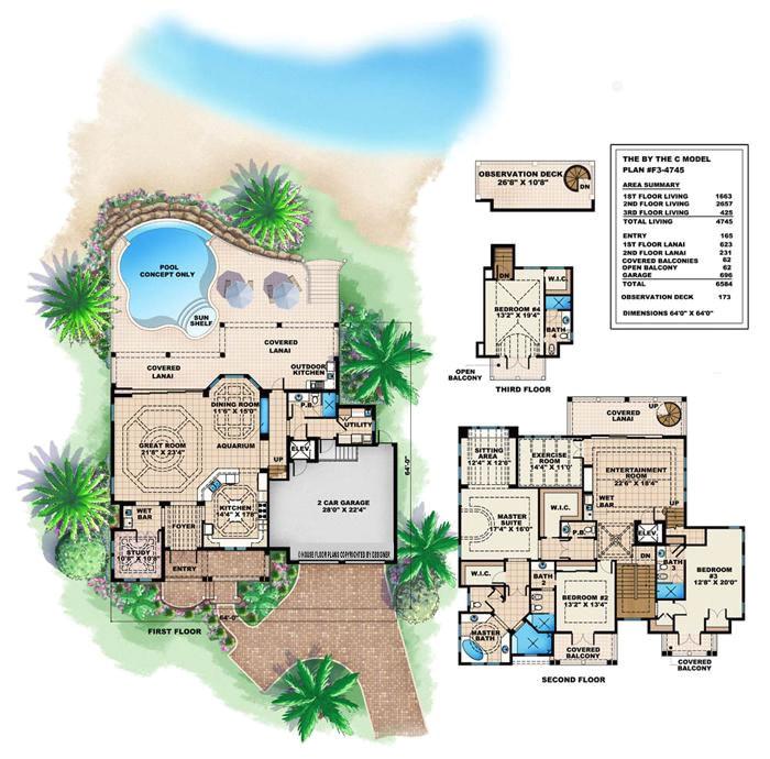 caribbean house design style 4 bedrooms 5 baths luxury villa tropical island designs style