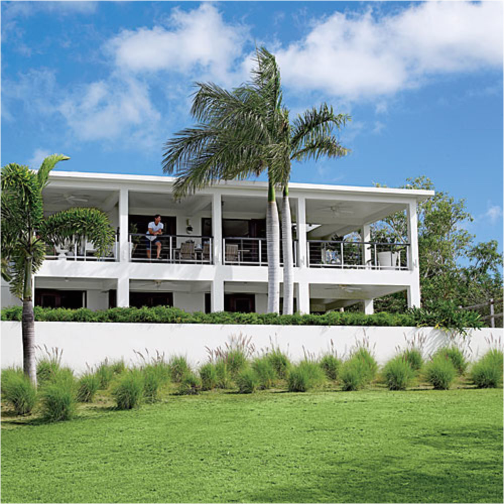 small caribbean style house plans