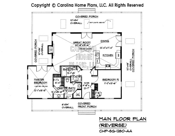 sg1280aa small country cottage houseplan