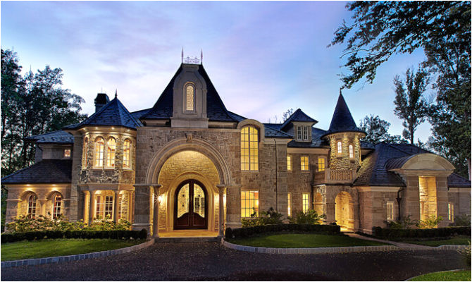 9 beautiful small castle home plans